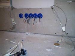 Электромонтажные работы в квартирах новостройках в Энгельсе. Электромонтаж компанией Русский электрик