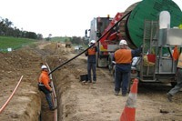 Прокладка силового кабеля в Энгельсе. Электромонтаж
